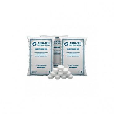 Соль таблетированная NaCl (25кг)
