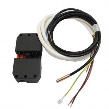 Датчик температуры воды в бойлере и кабель датчика и насоса ГВС
