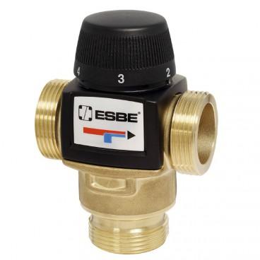 """ESBE VTA 572 20-55°C 1"""" НР KVS 4,5 Клапан термостатический смесительный, Швеция"""