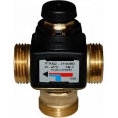 """ESBE VTA 322 20-43°C G 1"""" KVS 1,6 Клапан термостатический смесительный, Швеция"""