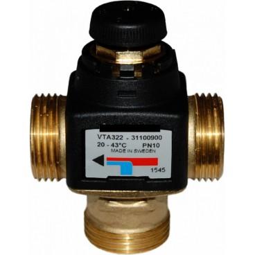 """ESBE VTA 322 35-60°C G 1"""" KVS 1,6 Клапан термостатический смесительный, Швеция"""