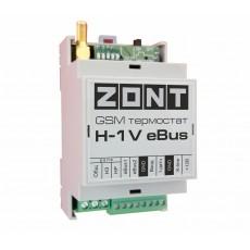 GSM термостат ZONT H-1V eBUS (для Protherm, Vaillant)(DIN)