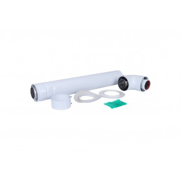 Дымоход в сборе D60/100 мм., 750 мм., Protherm, алюминий (Пантера, Гепард)