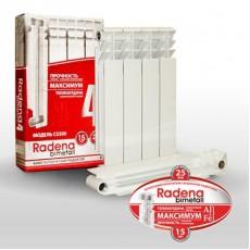 Биметаллический радиатор Radena 350/80 10 секций