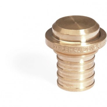 Заглушка надвижная 16 RX бронза Rehau