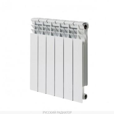 Радиатор биметалл Корвет 500/80 8 сек РУССКИЙ РАДИАТОР (163 Вт)