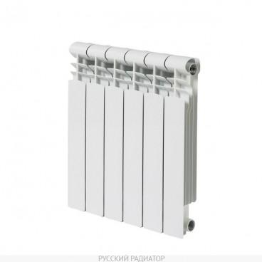 Радиатор алюм. Фрегат 500/80 6 сек. РУССКИЙ РАДИАТОР (162 Вт)
