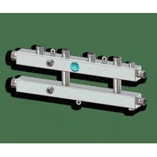 """Север КМ2+1 (Aisi) Коллектор модульный 1 1/4""""х1""""*3 м/о 125мм 70 кВт"""