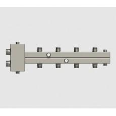 """Север-Т4 (Aisi) Гидравлический разделитель модульный, 50 кВт, м/о 125мм, 1 1/4""""х1""""*4"""