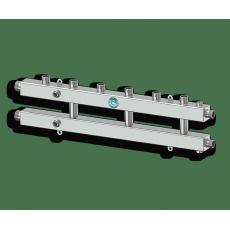 """Север КМ4 (Aisi) Коллектор модульный 1 1/4""""х1""""*4 м/о 125мм 70 кВт"""