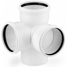 Крестовина 2х-плоскостная 110*87° Sinikon Comfort Plus (белая)