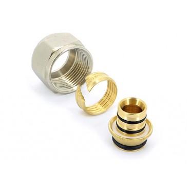 """Концовка для металлопластиковых труб Uni-fitt 16х2,0х3/4"""" EK"""