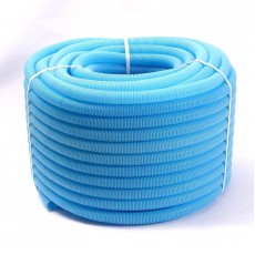 Труба гофрированная (ПНД) 25 мм Синяя Uni-fitt