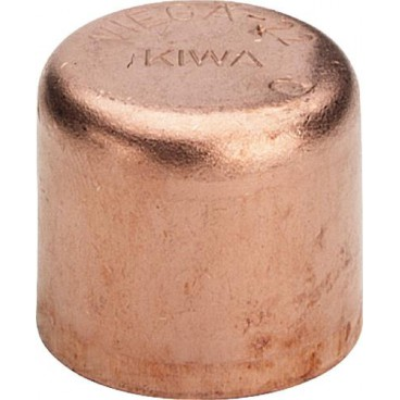 (95301) 18 мм Заглушка медь пайка Viega, Германия