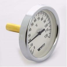 Термометр биметаллический погружной Dn 63 гильза 50мм Watts
