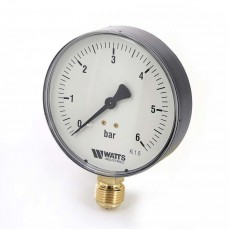 """Манометр Watts радиальный F+R200, 50 мм, 0-10 бар, 1/4"""""""