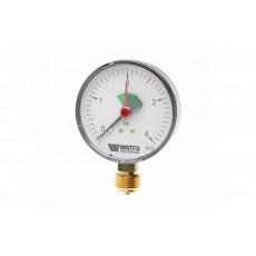 """Манометр Watts радиальный F+R201, 63 мм, 0-4 бар, 1/4"""""""