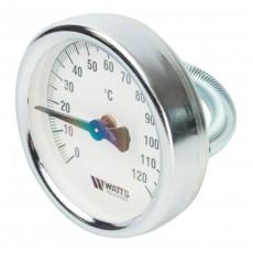 Термометр накладной 120* Dn 63 с пружиной Watts