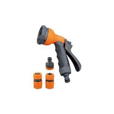 YM7502 Набор пистолет 7202 + коннектор1/2, коннектор аквастоп.1/2 Belamos