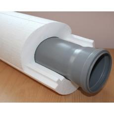 Трубная изоляция Пенощит 108х50мм(канализационная 110)